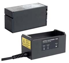 Capacitor Discharge (CD) Stud Welder - Battery Power Pegasar 500 accu - Battery and Charger