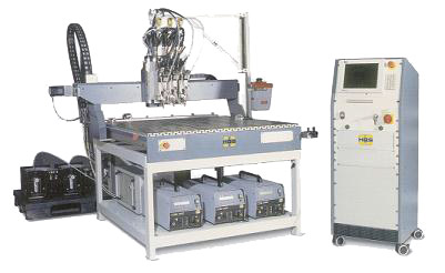 CNC Multi-Head Auto Feed Stud Welder