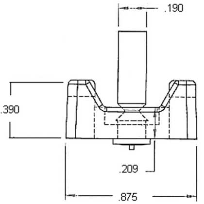 Wire Tie Down Stud Dimensions